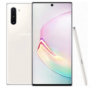 Samsung Galaxy Note 10 5G 12GB RAM/256GB ROM - Aura White