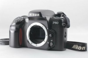 Nikon F60 35mm SLR Film Camera (Body)