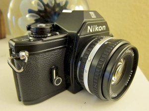 Nikon EM 35mm SLR Film camera Body