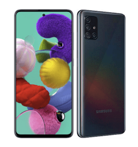 Samsung Galaxy A71 8GB RAM/128GB ROM - Crush Black