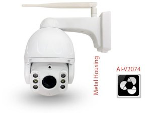 Camera AI 4G Flood Light Onvif Pan/Tilt 2.0MP Vantech AI-V2074