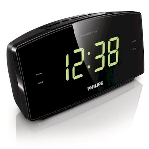 Radio Philips AJ3400 - Clock Radio display