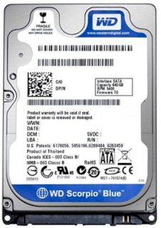 Western Digital 320GB - 5400rpm - 8MB Cache - SATA...