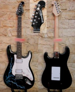 Electric guitar Fender TME320