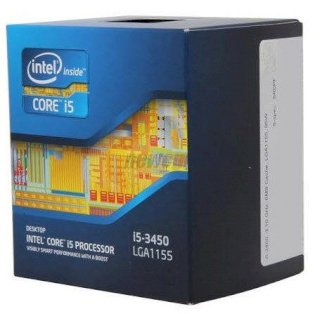 Intel Core i5-3450 (3.1GHz turbo up 3.5GHz, 6MB L3...