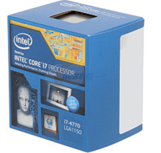 Intel Core i7-4770 Processor (3.4 Ghz, 8MB L3...