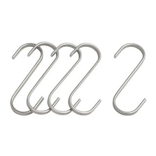 Móc treo 5c Grundtal / S-hook, stainless steel -...