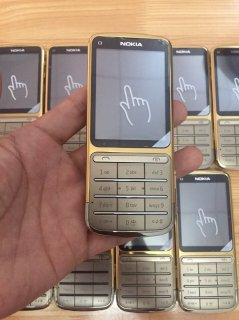 Nokia C3-01 Touch and Type Silver