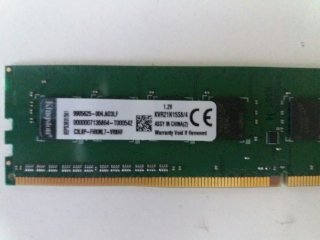 Ram Desktop Kingston 4GB DDR4 bus 2133 MHz PC4...