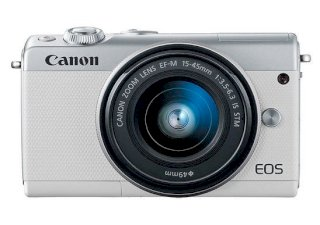 Canon EOS M100 (EF-M 15-45mm F3.5-6.3 IS STM) Lens...