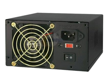 Rosewill RV480-2-FRB-S ATX 12V Ver.2.01 480W Power Supply 115/230 V UL, cUL, CB, TUV, CE - Retail