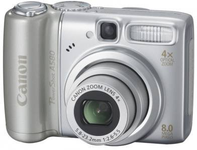 Canon PowerShot A580 - Mỹ / Canada
