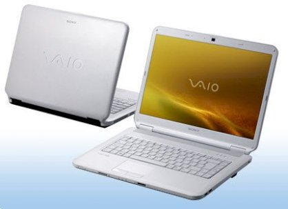 Sony Vaio VGN-NS190J/L Blue (Intel Core 2 Duo T5800 2GHz, 4GB RAM, 250GB HDD, VGA Intel GMA 4500MHD, 15.4 inch, Windows Vista Home Premium)