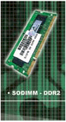 VISIPRO DDRamII, 1GB, Bus 800, PC 6400, SODIMM for Notebook