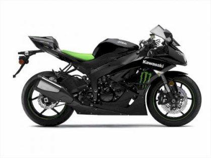 Kawasaki  Ninja® ZX™-6R Monster Energy 2009