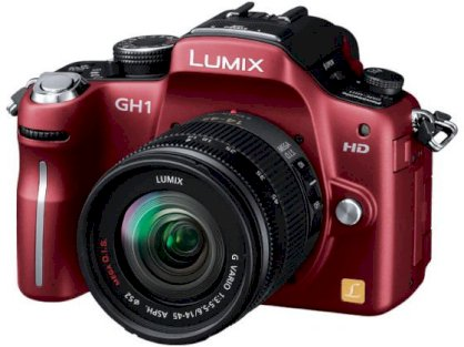 Panasonic LUMIX DMC-GH1 (LUMIX G VARIO 14-45mm / F3.5-5.6 ASPH. / MEGA OIS ) Lens Kit