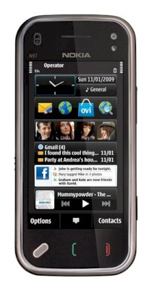 Nokia N97 mini Cherry Black
