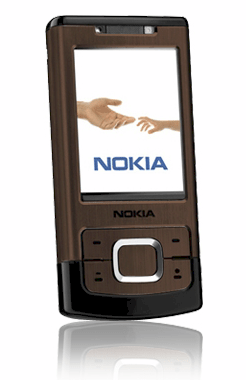 Nokia 6500 slide Brown