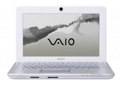 Sony Vaio VPC-W111XX/W Netbook (Intel Atom N280 1.66GHz, 1GB RAM, 160GB HDD, VGA Intel GMA 950, 10.1 inch, Windows XP Home)