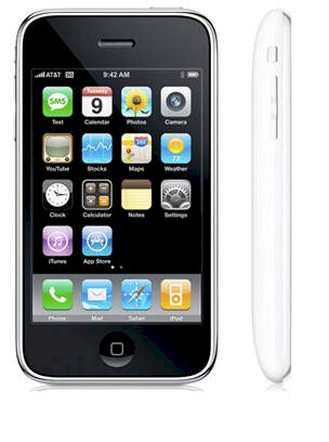 Apple iPhone 3G S (3GS) 16GB White (Lock Version)