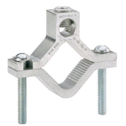 Grounding Clamp for Water Pipes, Aluminum (GC-15A-Q)