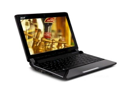 Acer Aspire One 532h (Intel Atom N450 1.66GHz, 1GB RAM, 160GB HDD, VGA Intel GMA 3150, 10.1 inch, Linux)