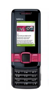 Nokia 7100 Supernova Jelly red