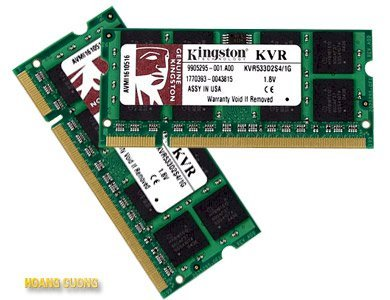 Kingston 2GB DDR2 Bus 800Mhz PC 6400 for Notebook