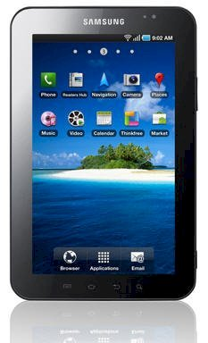 Samsung Galaxy Tab (P1000) (ARM Cortex A8 1.0GHz, 512MB RAM, 16GB Flash Driver, 7 inch, Android OS) Wifi, 3G Model