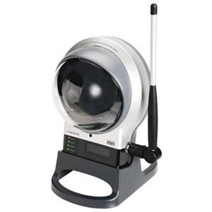 Wireless-G PTZ Internet Camera with Audio High Quality Flexible remote controlled Wireless Video solution for your small business WVC210