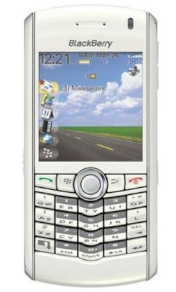 BlackBerry Pearl 8120 White