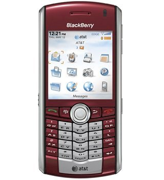 BlackBerry Pearl 8100 Red