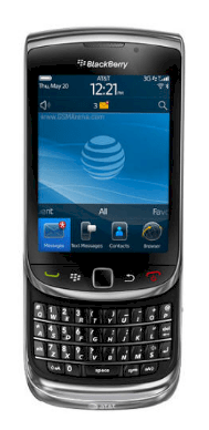 BlackBerry Torch 9800 (BlackBerry Slider 9800) Black