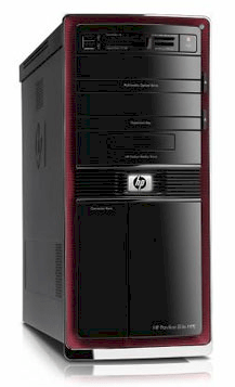 Máy tính Desktop HP Pavilion HP Pavilion Elite HPE-210f Desktop PC (BK169AA) (AMD Phenom™ II 945 Quad-Core 3.0GHz, RAM 8GB, HDD 1TB, VGA ATI Radeon™ HD 5450, HP x22LED, Windows® 7 Home Premium)