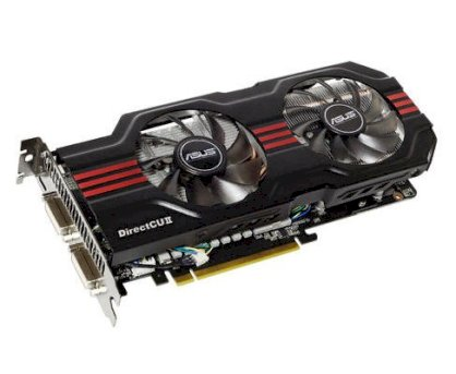 ASUS ENGTX560 Ti DCII/2DI/1GD5 (NVIDIA GeForce GTX 560 Ti, 1GB, 256-bit, GDDR5, PCI Express 2.0)overclocked graphics card for fast 3D Vision gaming