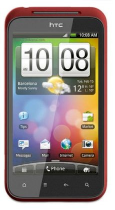 HTC Incredible S S710e Red