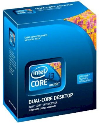 Intel Core i3-650 (3.20GHz, 4MB L3 Cache, FSB 2.5GT/s, Socket 1156)
