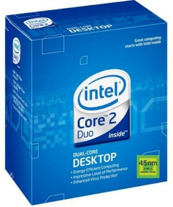 Intel Core2 Duo Desktop E8400 (3.00GHz, 6MB L2 Cache, Socket 775, 1333MHz FSB)