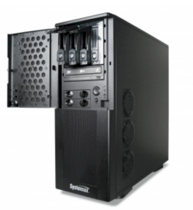 Systemax ELS 6 Tower Server (Intel Xeon X3440 2.53GHz, 8GB DDR3 ECC, 4 x 500GB HDD in Raid 5, Hotswap, 650 Watt 80+ Power)
