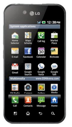 LG Optimus Black P970 (LG Optimus P970) Black