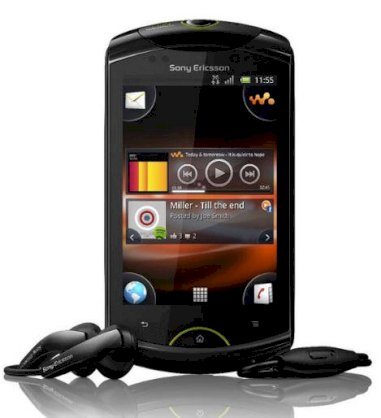 Sony Ericsson Live with Walkman (Sony Ericsson WT19i) Black