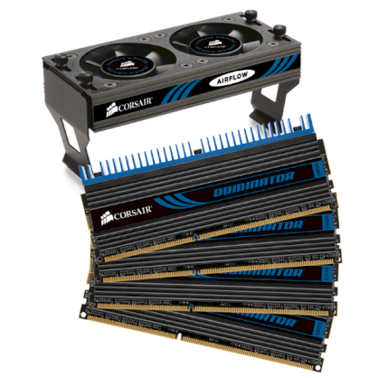 Corsair Dominator (CMP8GX3M4A1600C8) - DDR3 - 8GB (4 x 2GB) - bus 1600MHz - PC3 12800 kit