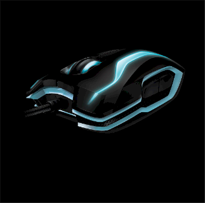 Mouse TRON Gaming Mouse Designed by Razer