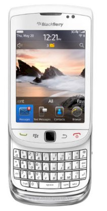 BlackBerry Torch 9800 (BlackBerry Slider 9800) White