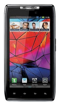 Motorola DROID RAZR XT912 (Motorola DROID HD) Black (For Verizon)