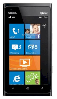 Nokia Lumia 900 (Nokia Lumia 900 RM-808) (For AT&T) Black
