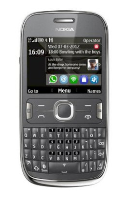 Nokia Asha 302 (N302) Dark Grey