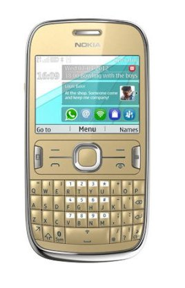 Nokia Asha 302 (N302) Golden Light