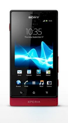 Sony Xperia Sola (MT27i Pepper) Red