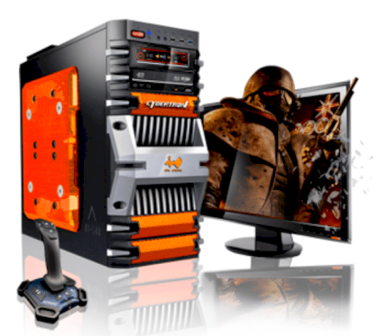 Máy tính Desktop CybertronPC Fortress FX Octa-Core Gaming PC (GM2241G) (AMD FX 8150 3.60GHz, RAM 16GB, HDD 2TB, VGA 2x Radeon HD6850, Microsoft Windows 7 Home Premium 64bit, Không kèm màn hình)